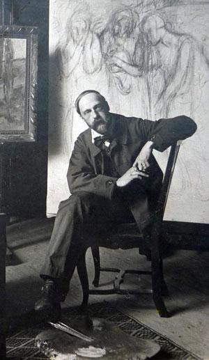 1908 Alfredo Müller immagine