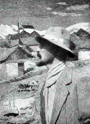Carlo-Fornara-autoritratto