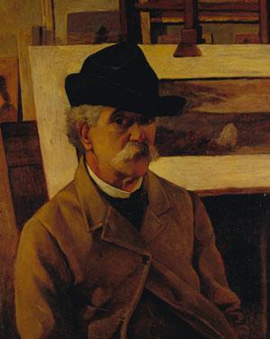 Giovanni Fattori autoritratto