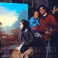 Domenico Induno dipinti in vendita
