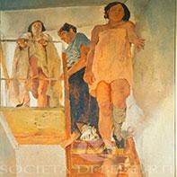 Fausto Pirandello dipinti del 900