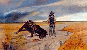 Giovanni-fattori-Cavallo-morto