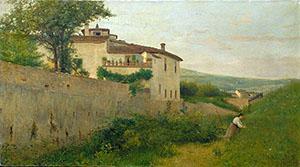 Silvestro-Lega--Villa-Batelli--lungo-lAffrico