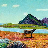 Carlo Fornara vendita dipinti divisionisti