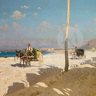 Francesco Lojacono quadri dell'800 vendita online