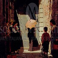 Dove comprare dipinti dell'800 di Giacomo Favretto