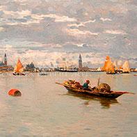 Dipinti di Guglielmo Ciardi in vendita