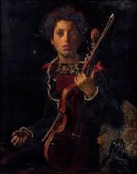 Antonio-Mancini-Giovane-con-violino