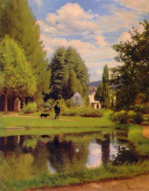Odoardo-Borrani-Passeggiata-in-giardino