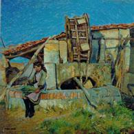 mario Puccini dipinto il Bindolo