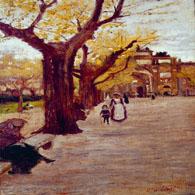 Dipinti postmacchiaioli di Ulvi Liegi in vendita