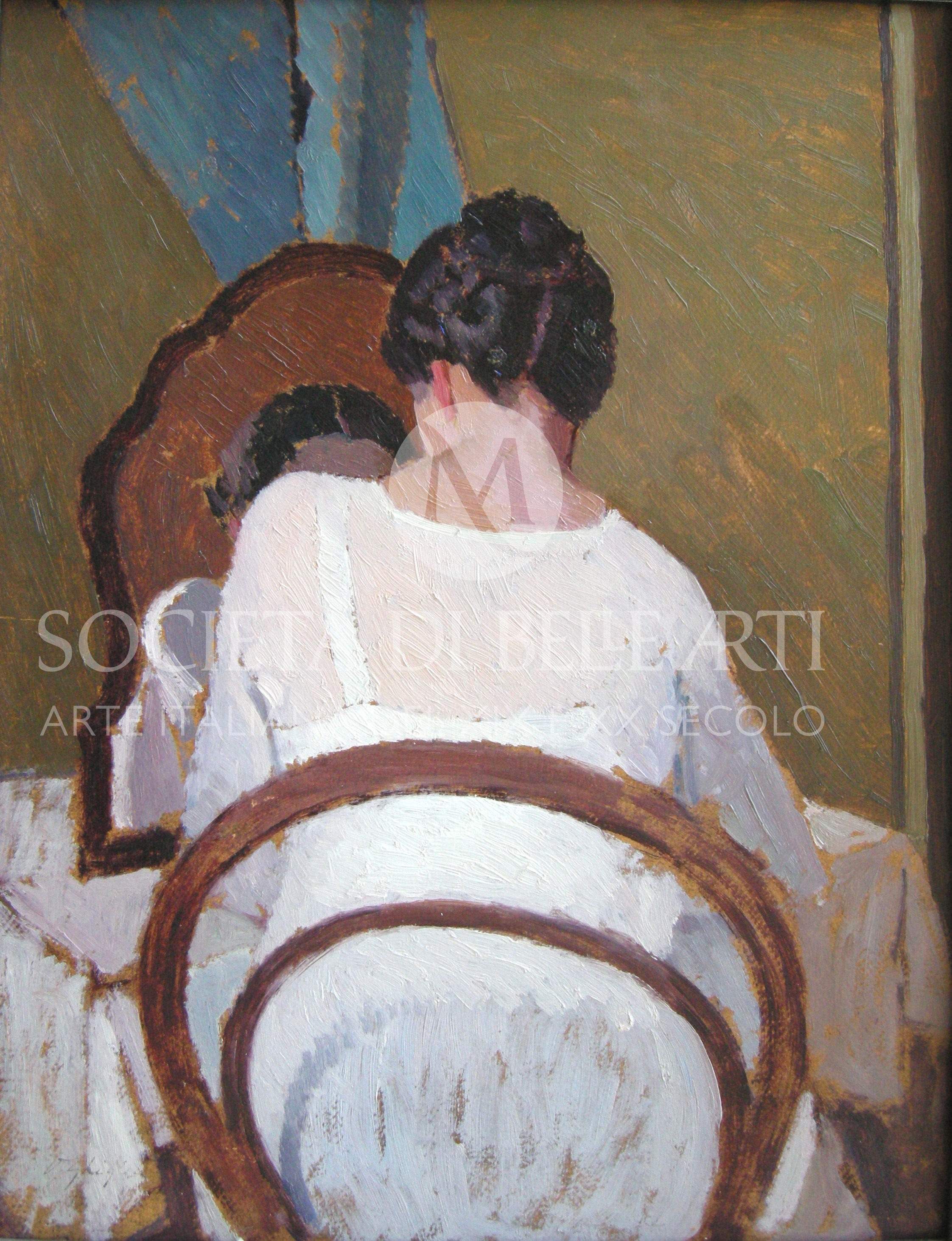 Oscar Ghiglia dipinti del '900 vendita