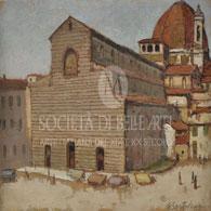 Dove comprare quadri postmacchiaioli di Giovanni Bartolena