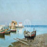 Francesco Lojacono dipinto dell'800 vendita