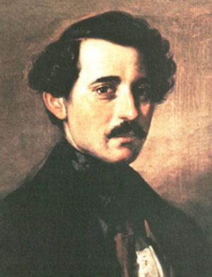 Carlo-Bossoli-autoritratto