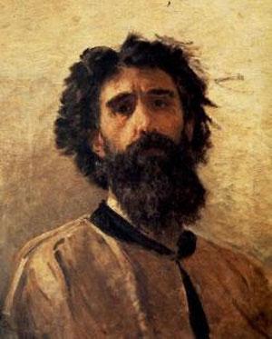 Domenico Morelli autoritratto