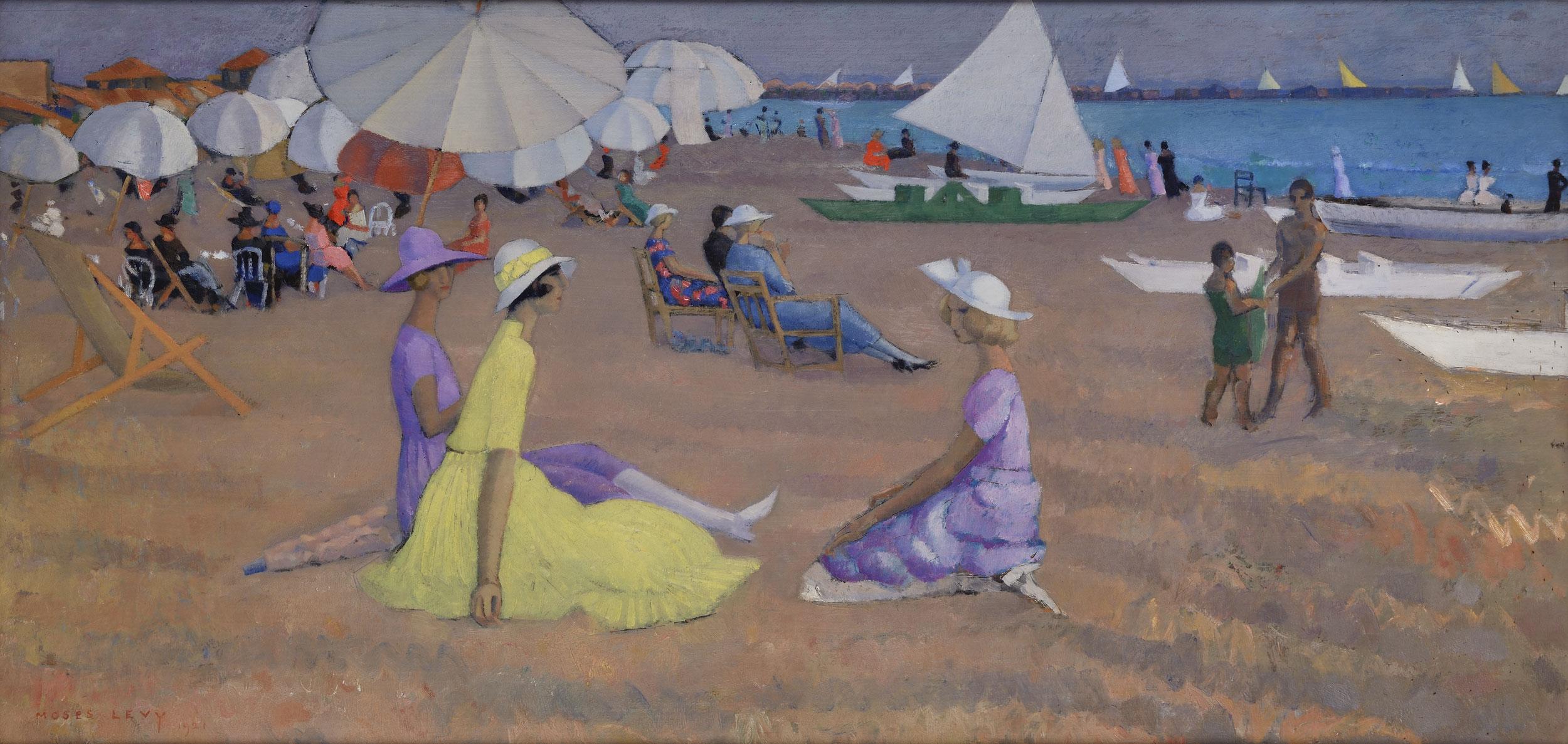 Moses Levy dipinti in vendita online