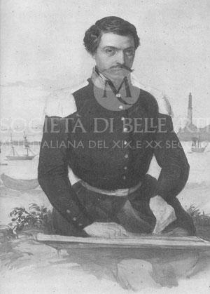 Autoritratto di Cesare Bartolena