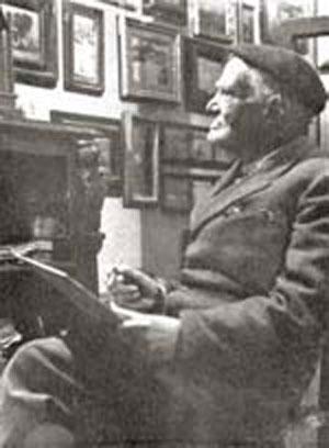 Il pittore Attilio Pratella