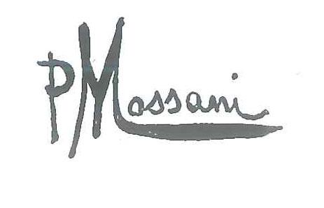 Pompeo Massani firma autografa