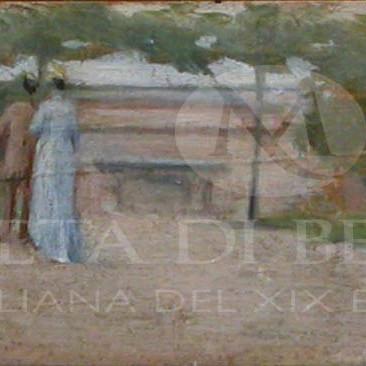 Silvestro Lega dipinti in vendita