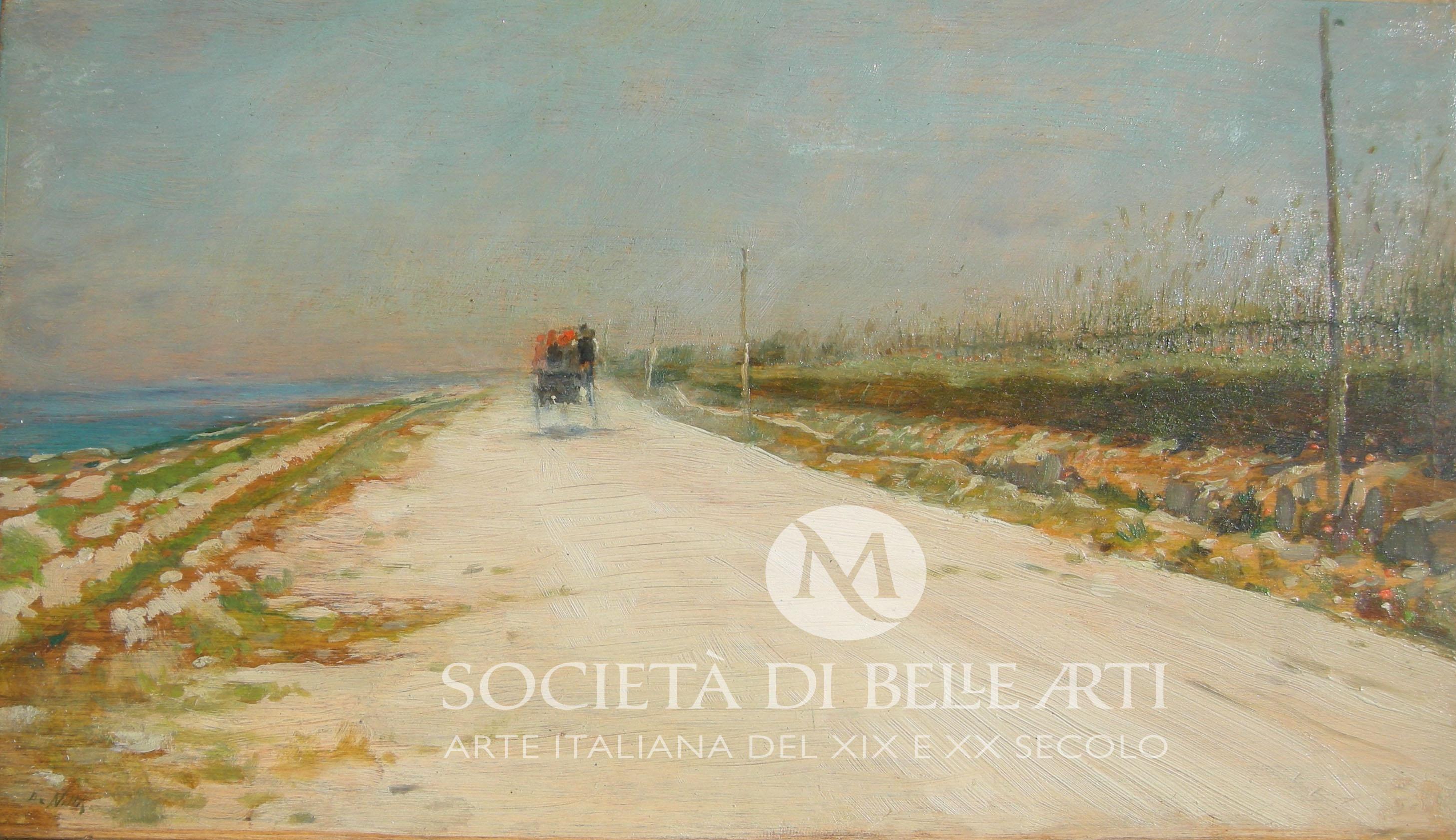 Vendita quadri di Giuseppe De Nittis