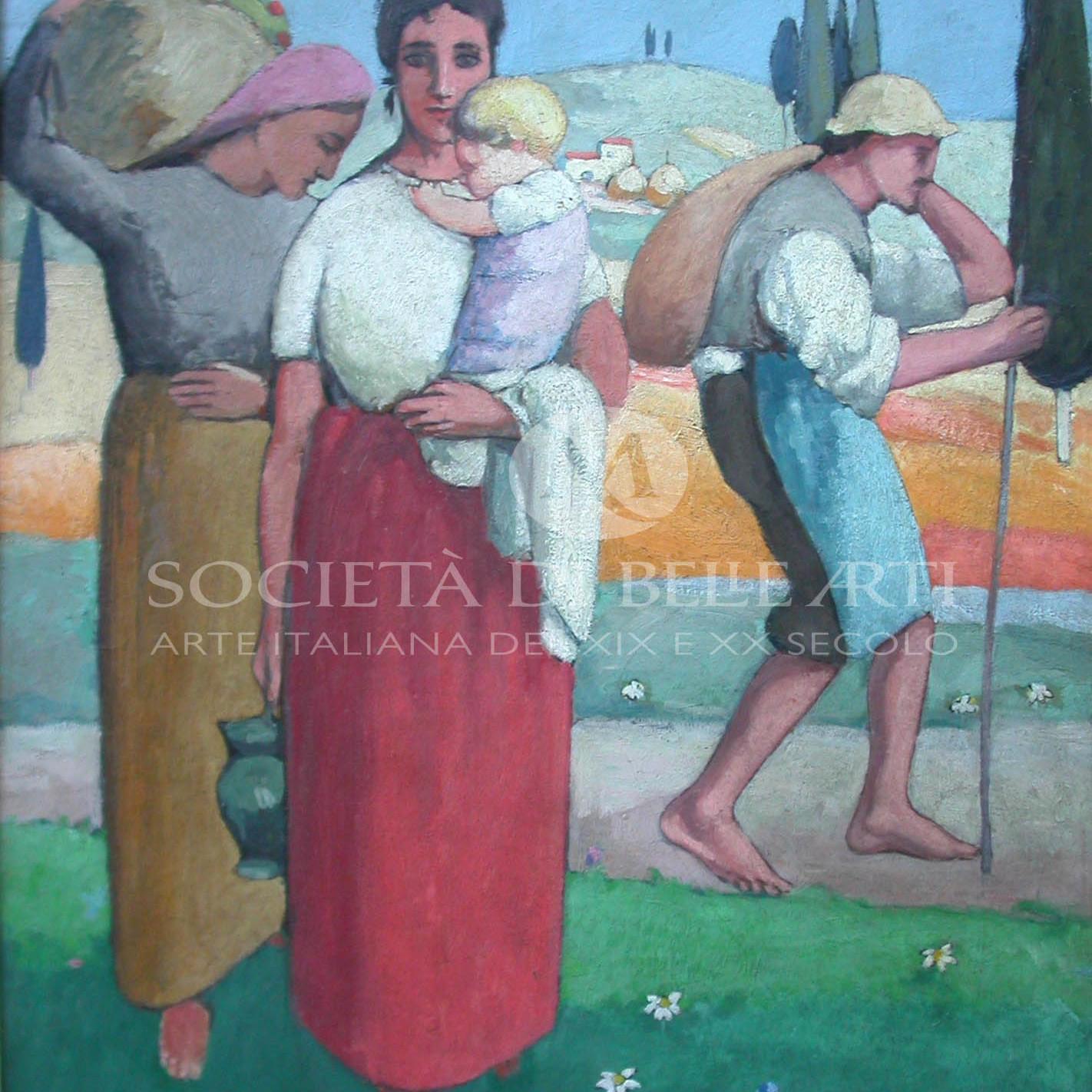 Ardengo Soffici vendita dipinti