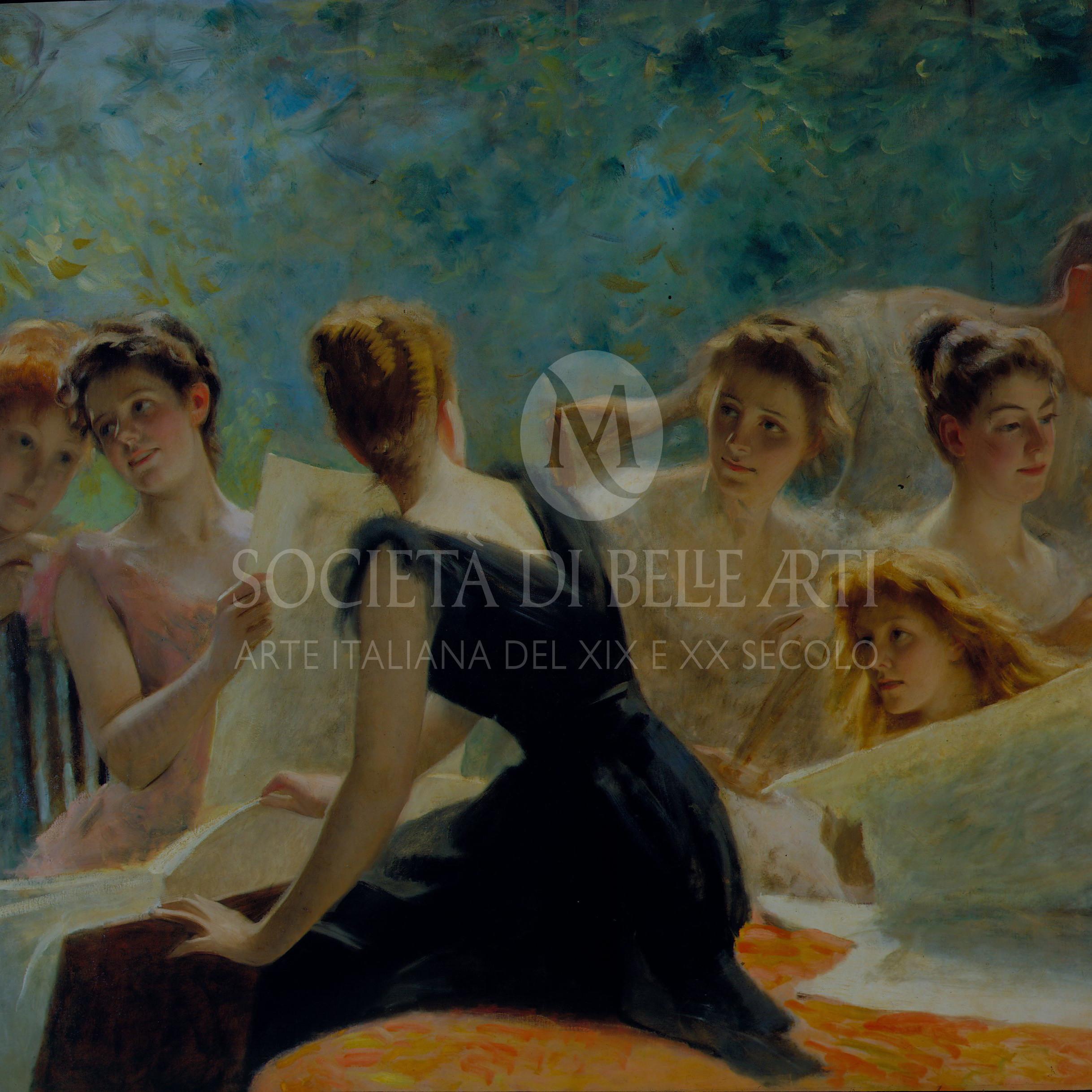Michele gordigiani dipinti in vendita in galleria