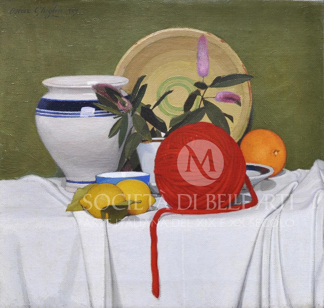 Oscar Ghiglia quadri in galleria