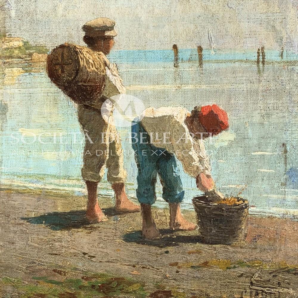 Guglielmo Ciardi quadri vendita