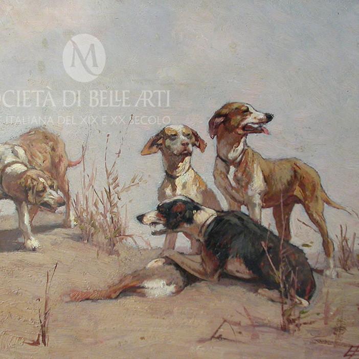 Eugenio Cecconi dipinti macchiaioli vendita online