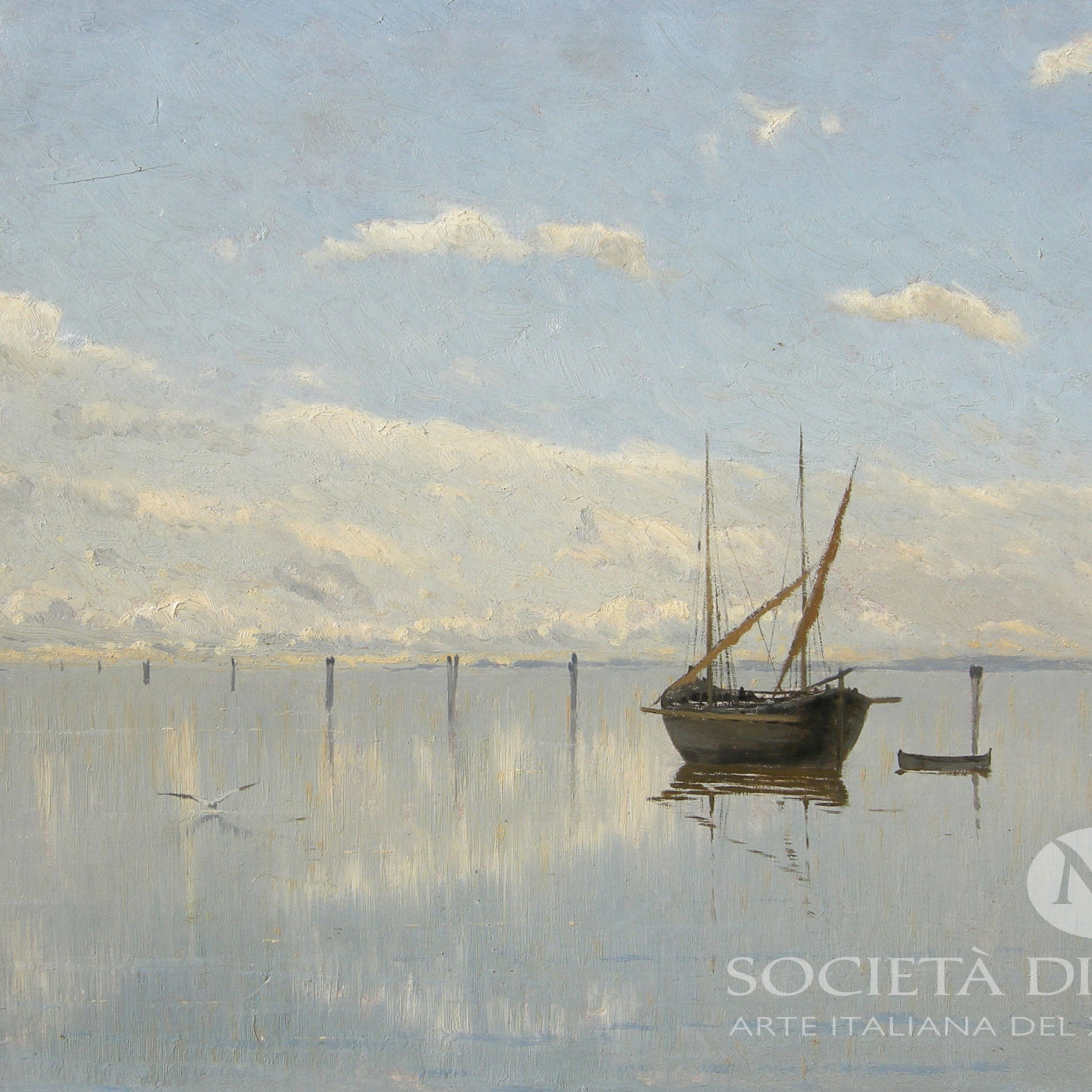 GUglielmo CIardi dipinti veneti in vendita