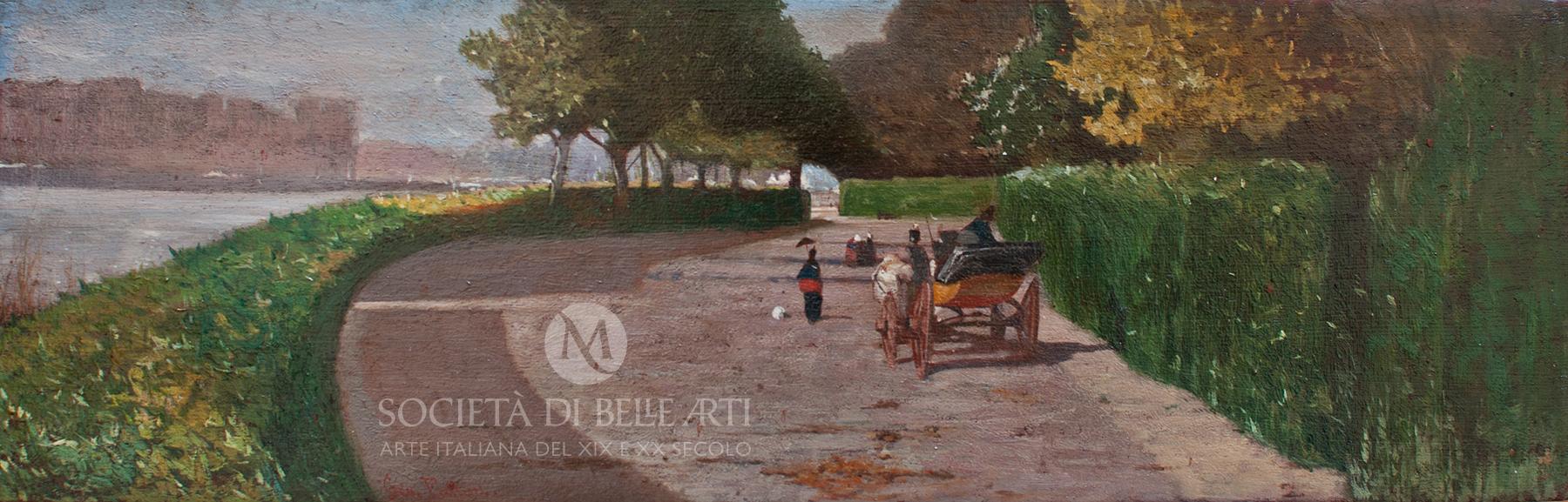 Giovanni Fattori dipinti macchiaioli in catalogo di vendita