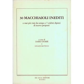 30 Macchiaioli inediti vendita catalogo online