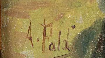 Arturo Faldi quadri in vendita
