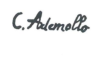 carlo Ademollo quadri in vendita