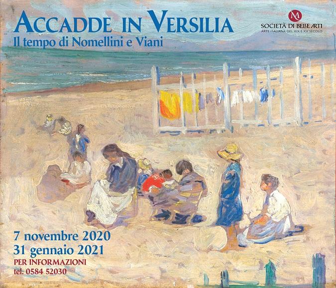 Mostra Accadde in Versilia della Società di Belle Arti