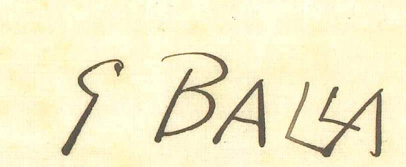 Giaco Balla dipinti in vendita